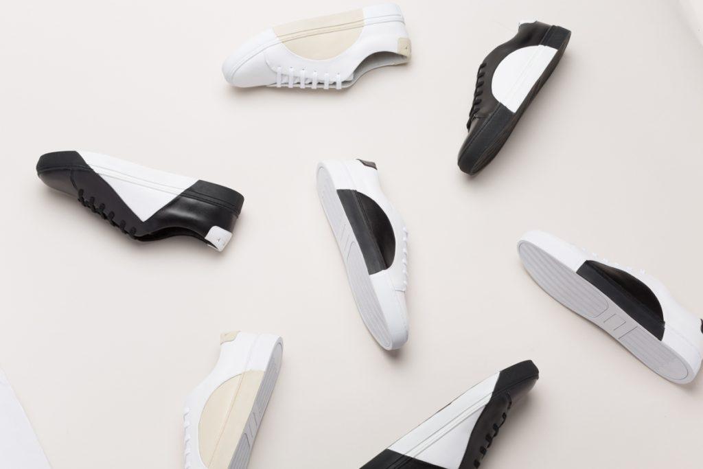 detalle de toda la colección de zapatillas de They The New York