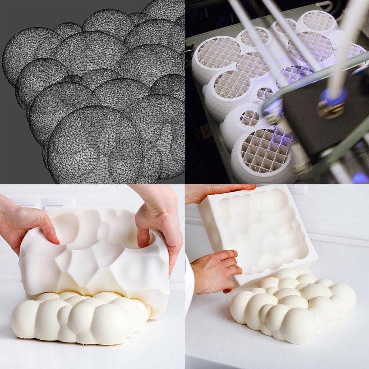 Moldes con impresora 3D