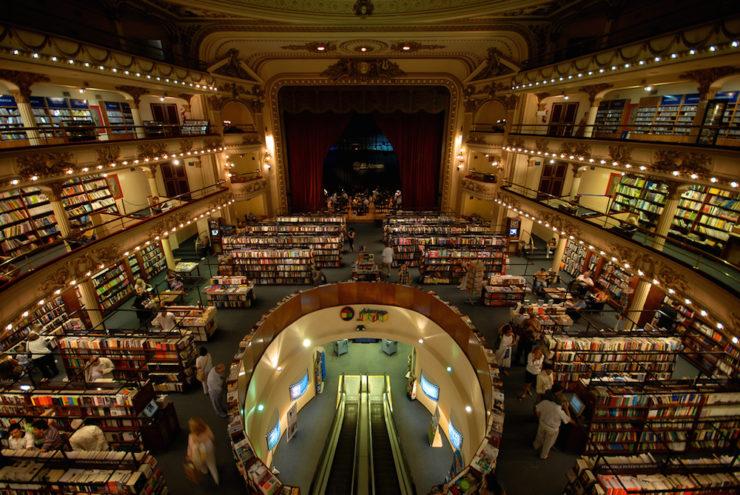 Magnífica librería El Ateneo Grand Splendid