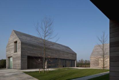 Casa DC II, un toque contemporáneo a la tradición rural flamenca