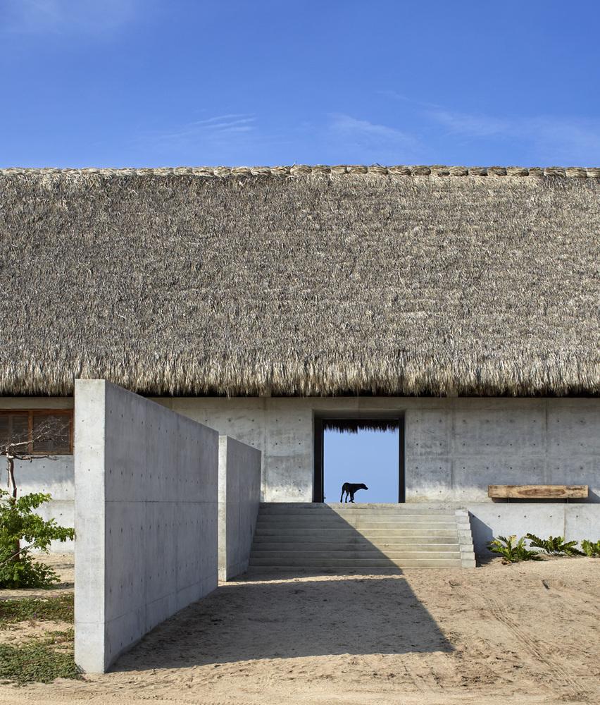 Un oasis para artistas en la costa sur mexicana
