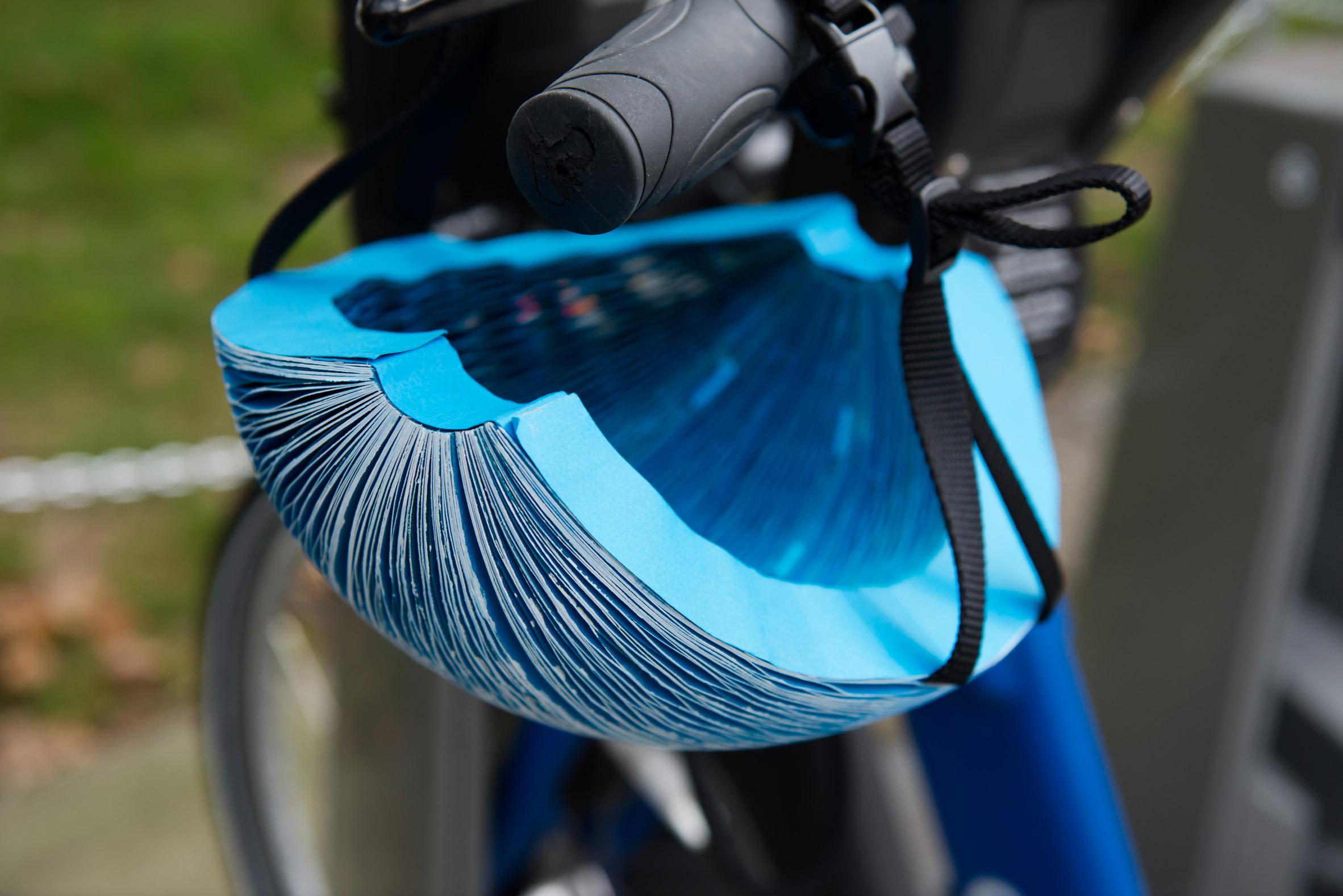 EcoHelmet, el sorprendente casco menguante para ciclistas