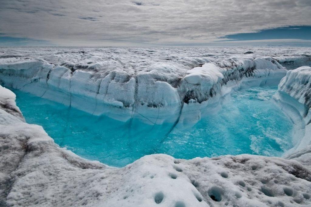 Cañón de hielo de Groenlandia
