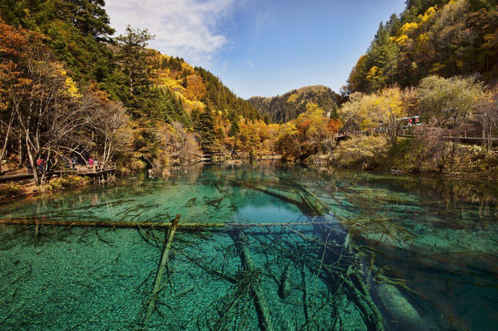 Valle de Jiuzhaigou, patrimonio de la humanidad