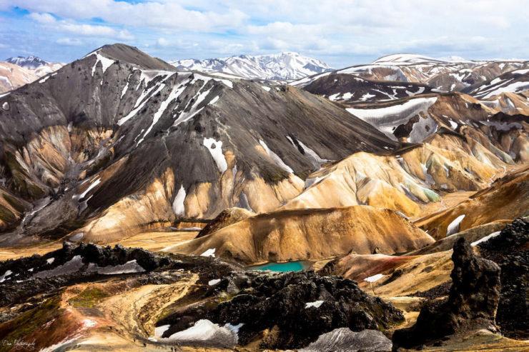 Landmannalaugar, Islandia. Parque Natural de Fjallabak