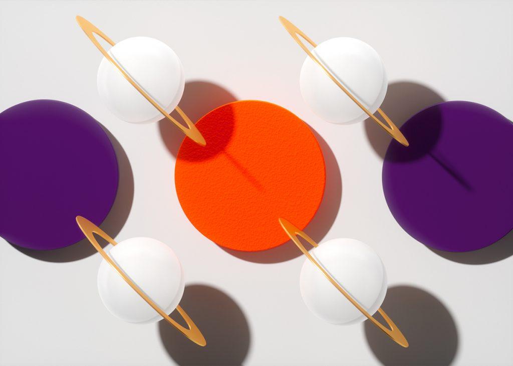 Lámparas Suprematics con texturas y materiales muy atractivos