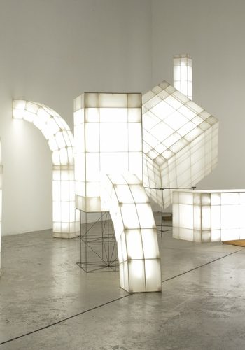 Space Frames: arquitecturas luminosas que rompen moldes