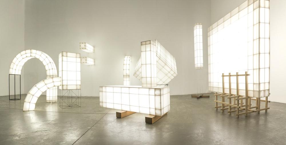 Lámparas Space Frame entre el diseño de producto y la arquitectura