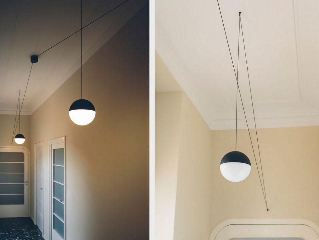 Detalle de las String Lights con diferentes configuraciones de cable