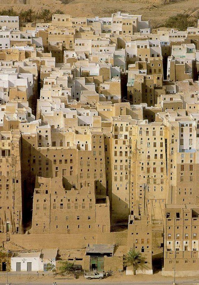 Un paseo por Shibam, el Manhattan del desierto