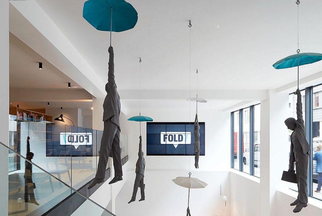 Imagen general de la agencia londinense Fold7