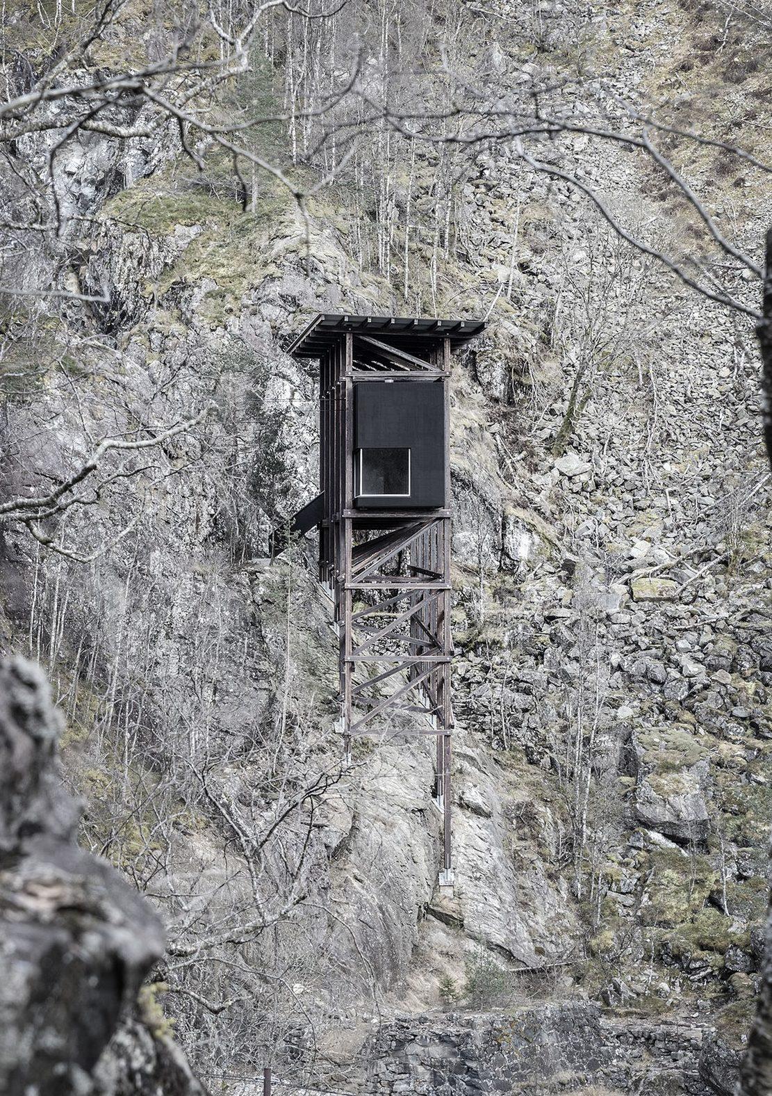Peter Zumthor rescata la minería noruega en el Mine Zinc Museum Allmannajuvet