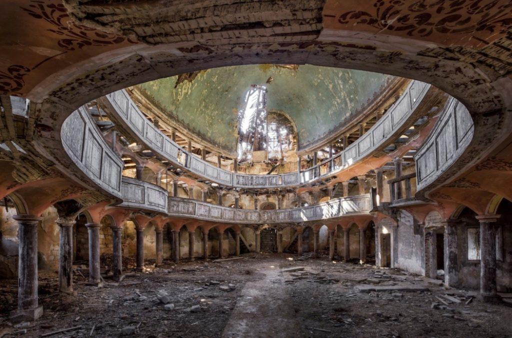 Fotografía Christian Richter de uno de los edificios abandonados