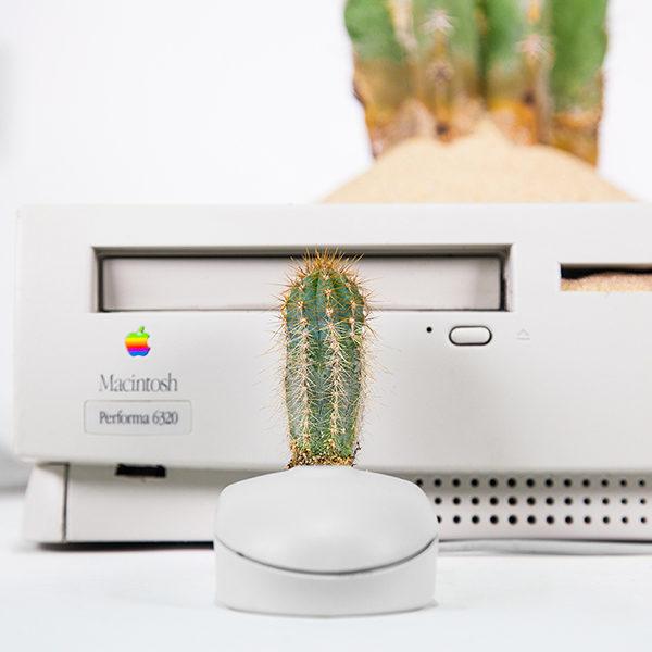 modelos clásicos de la marca Macintosh piezas de coleccionista