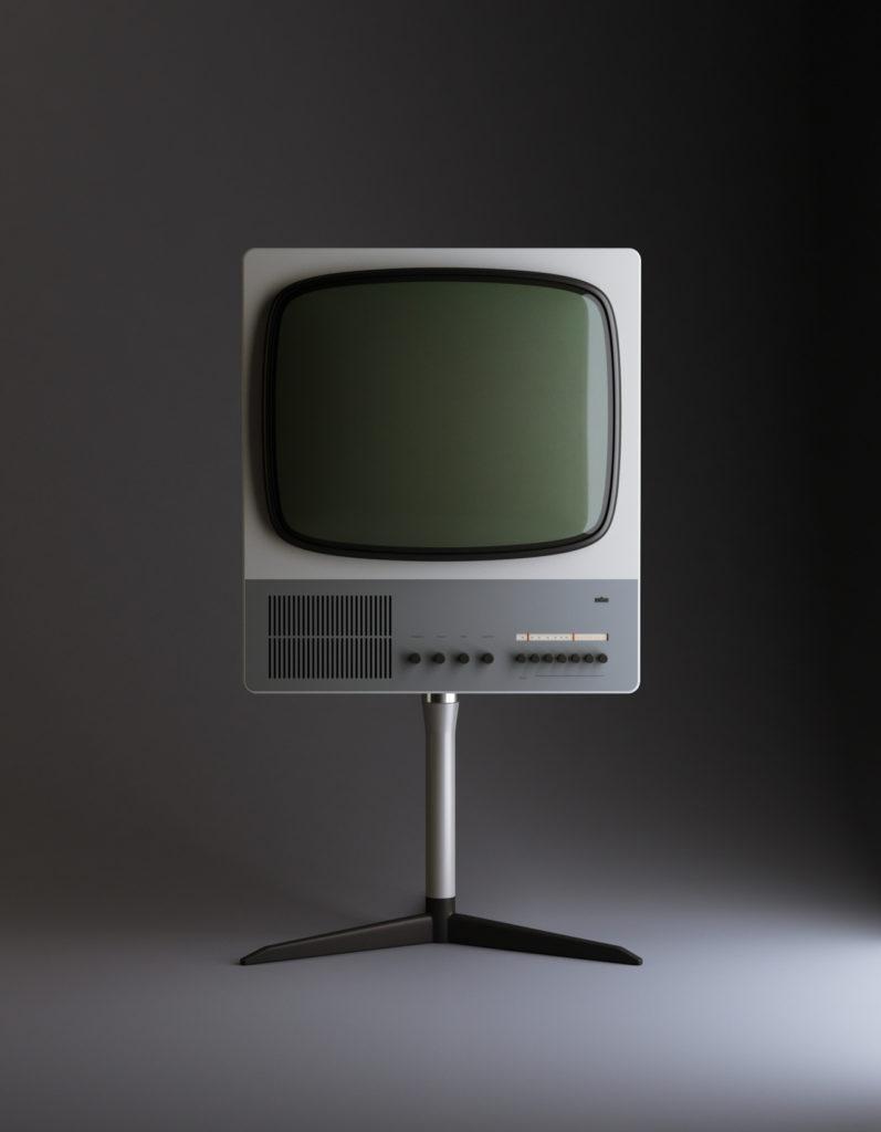 Television diseñada por dieter rams