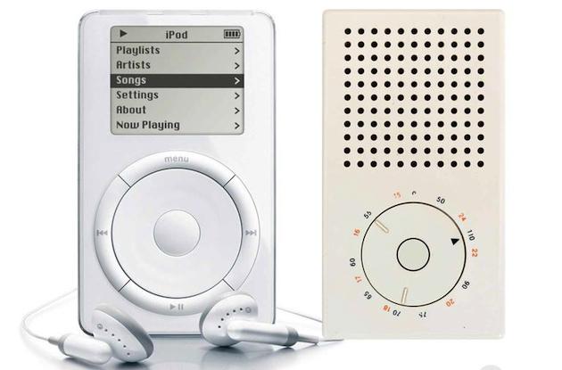 Radio T3 similar ipad diseño dieter rams