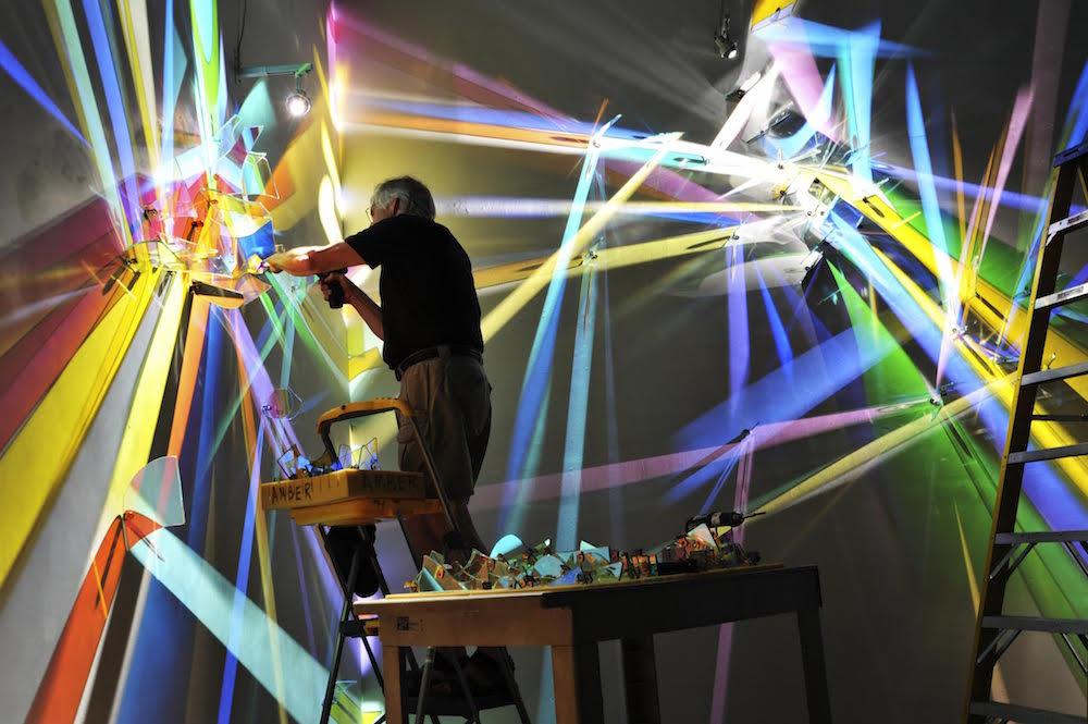 Obra denomina «lightpaintings» o pinturas de luz