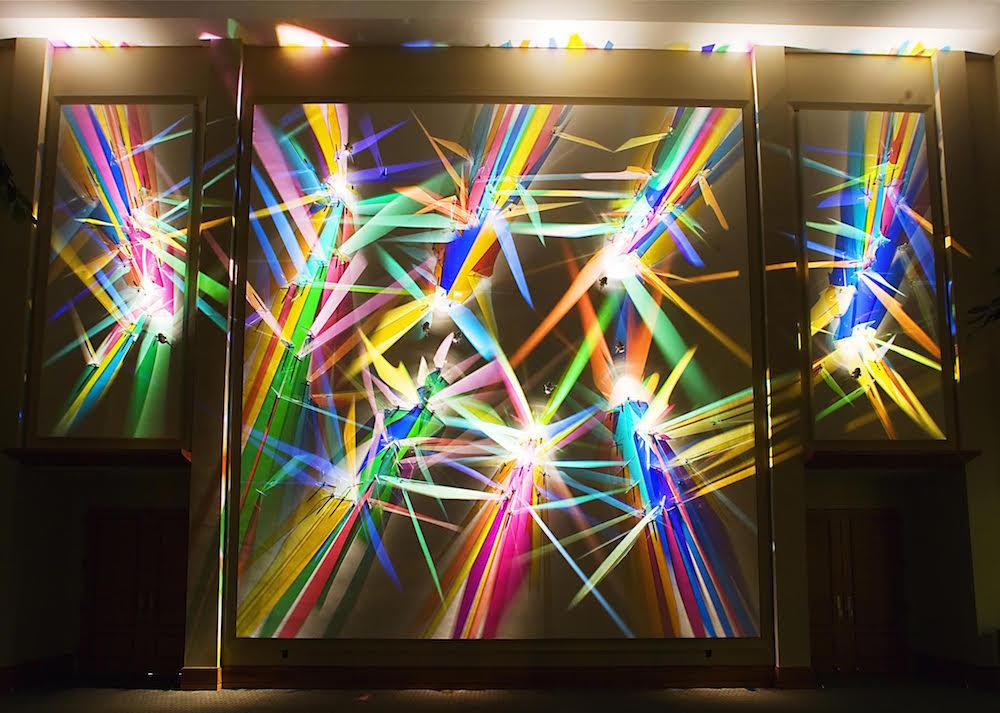 Detalle de la obra «lightpaintings» de Stephen Knapp