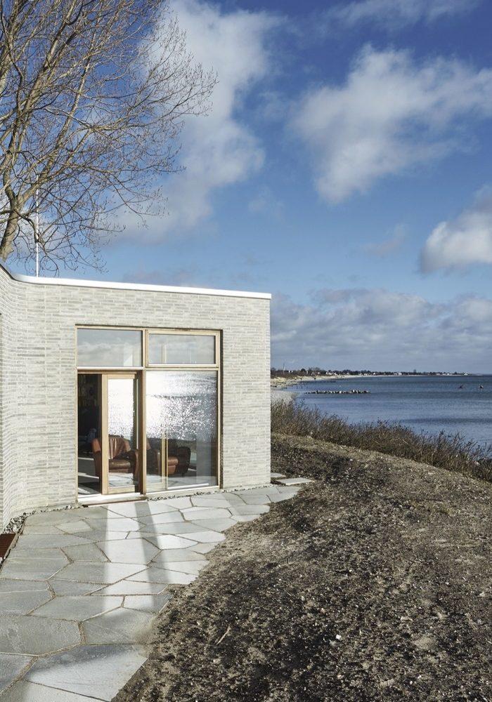 Villa Platan: el mar danés dentro de casa