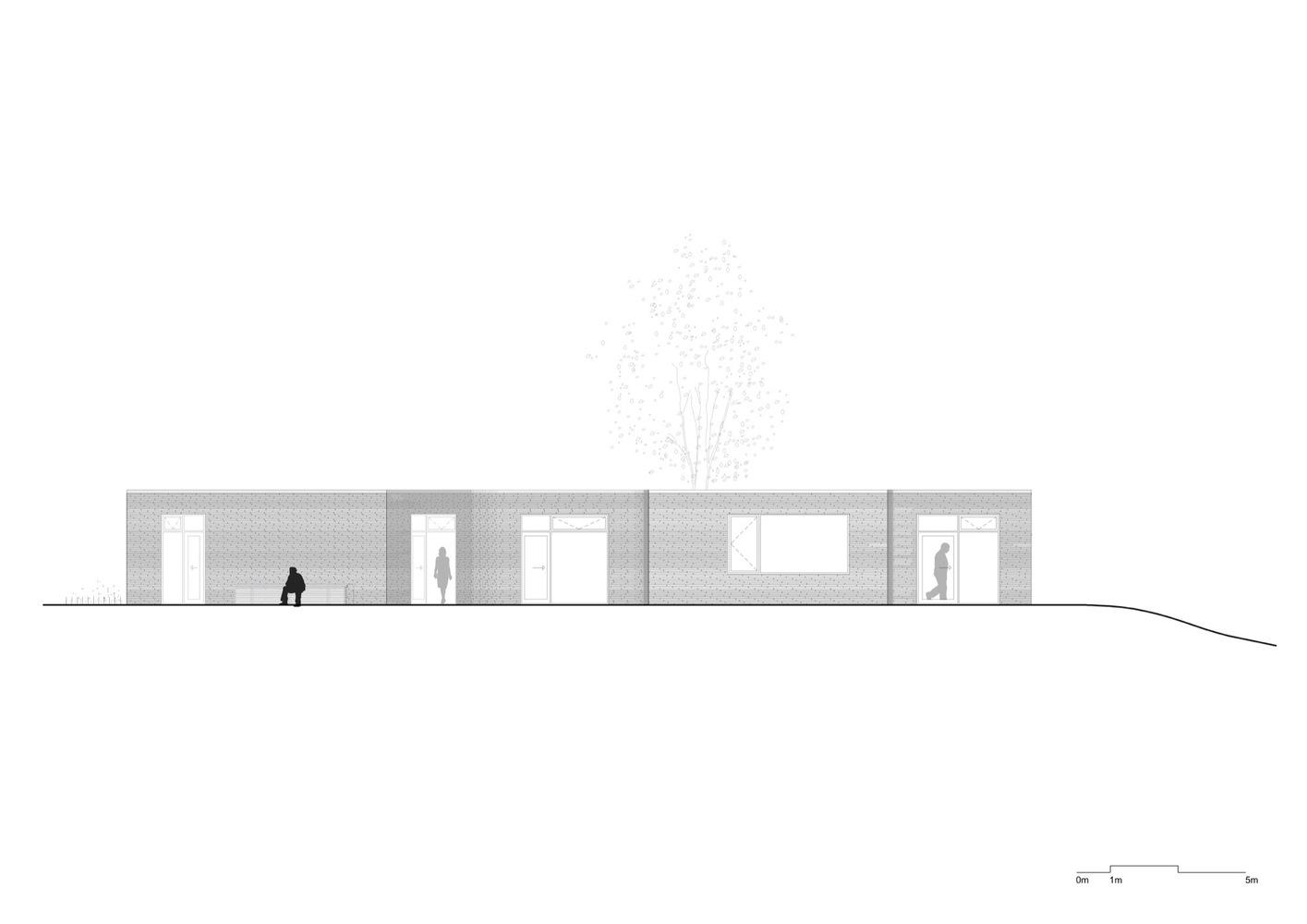 Villa platan el mar dan s dentro de casa despiertaymira for Terrace elevation