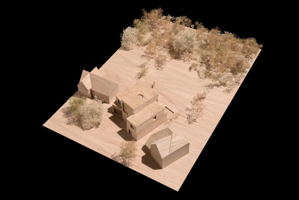 Carmody Groarke proyecto Highgate Wood maqueta