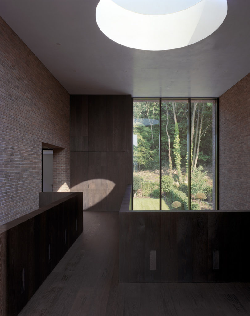 Carmody Groarke proyecto Highgate Wood lucernario circular