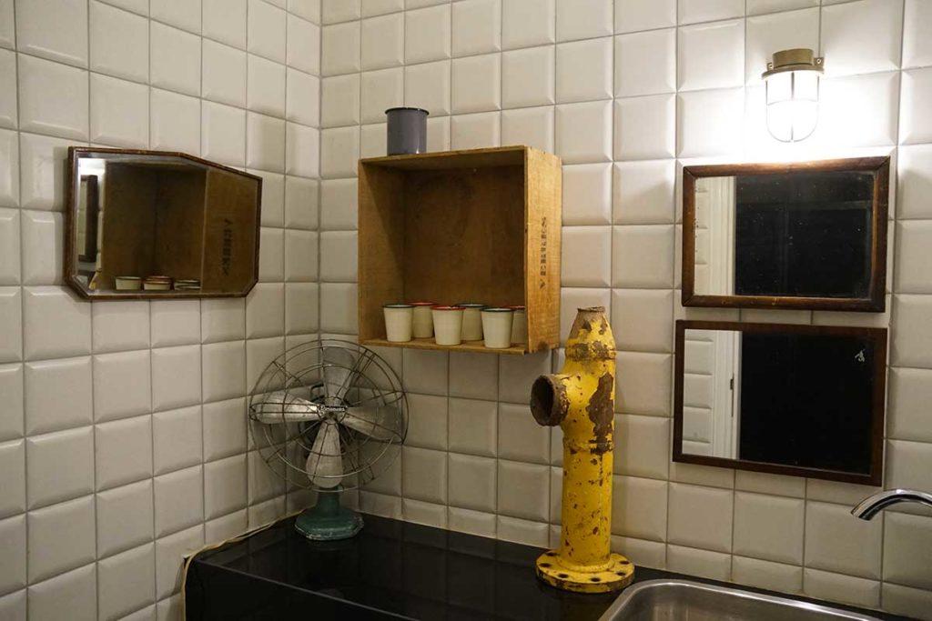 uno de los baños del hotel