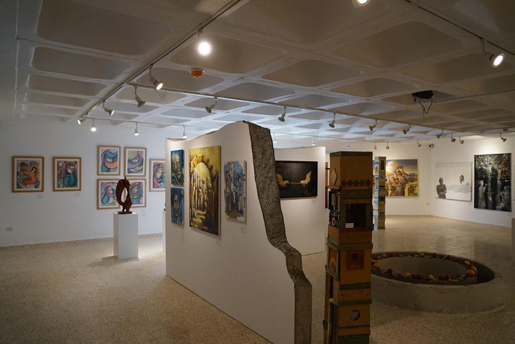 obras de arte de la galería de arte del hotel
