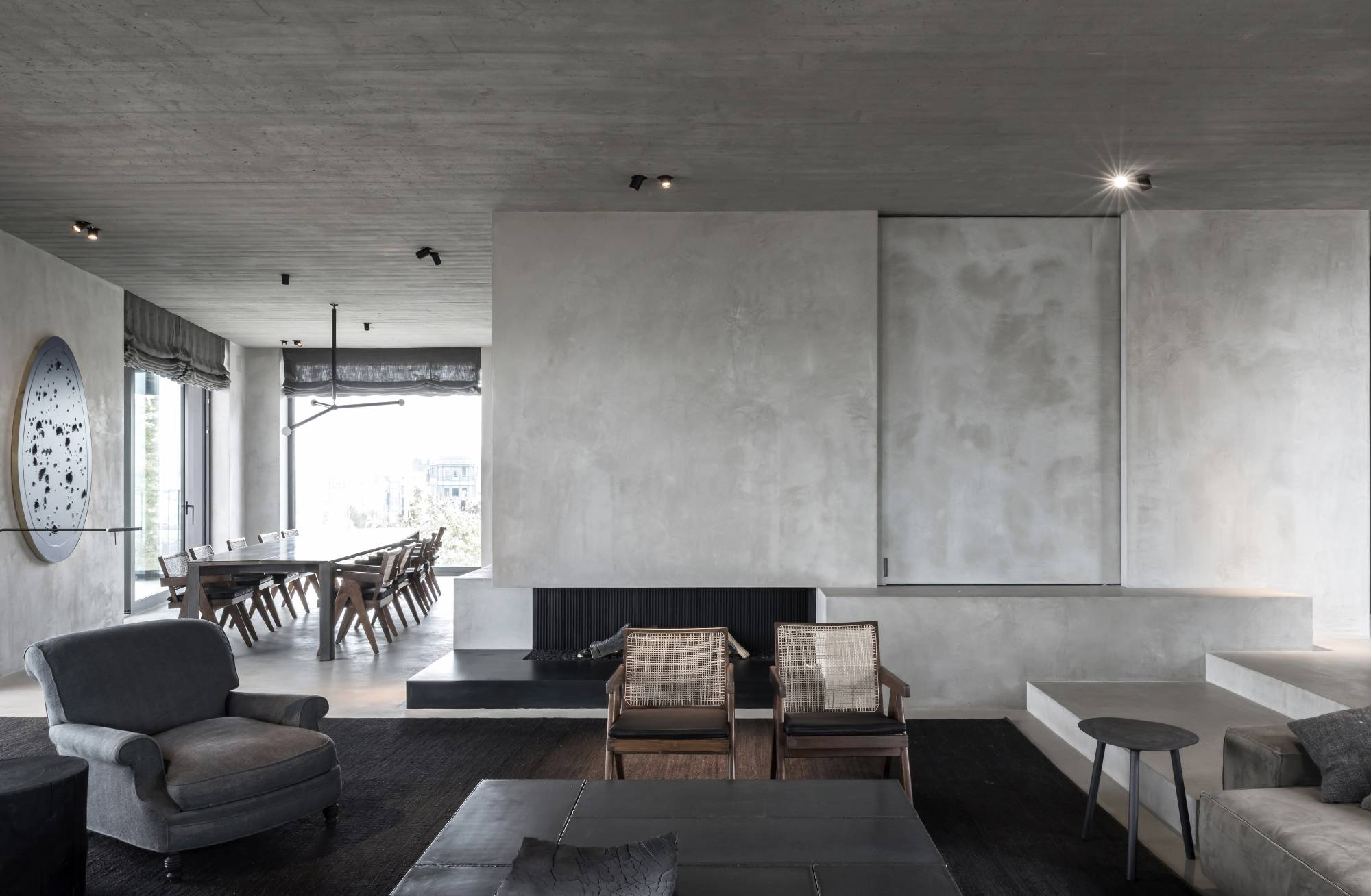 el c penthouse de van duysen ofrece una singular panor mica de amberes despiertaymira. Black Bedroom Furniture Sets. Home Design Ideas