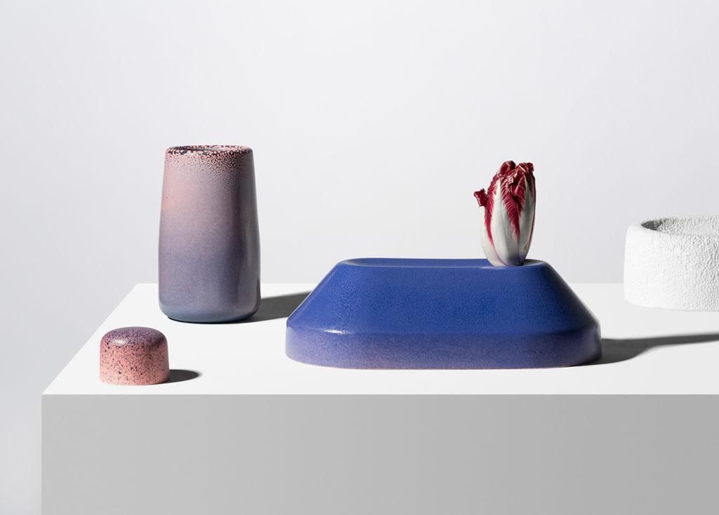 complementos de decoración de la obra de Dimitri Bähler