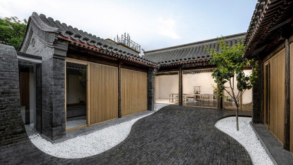 reinterpretación de un antiguo «siheyuan» del equipo de Arch Studio