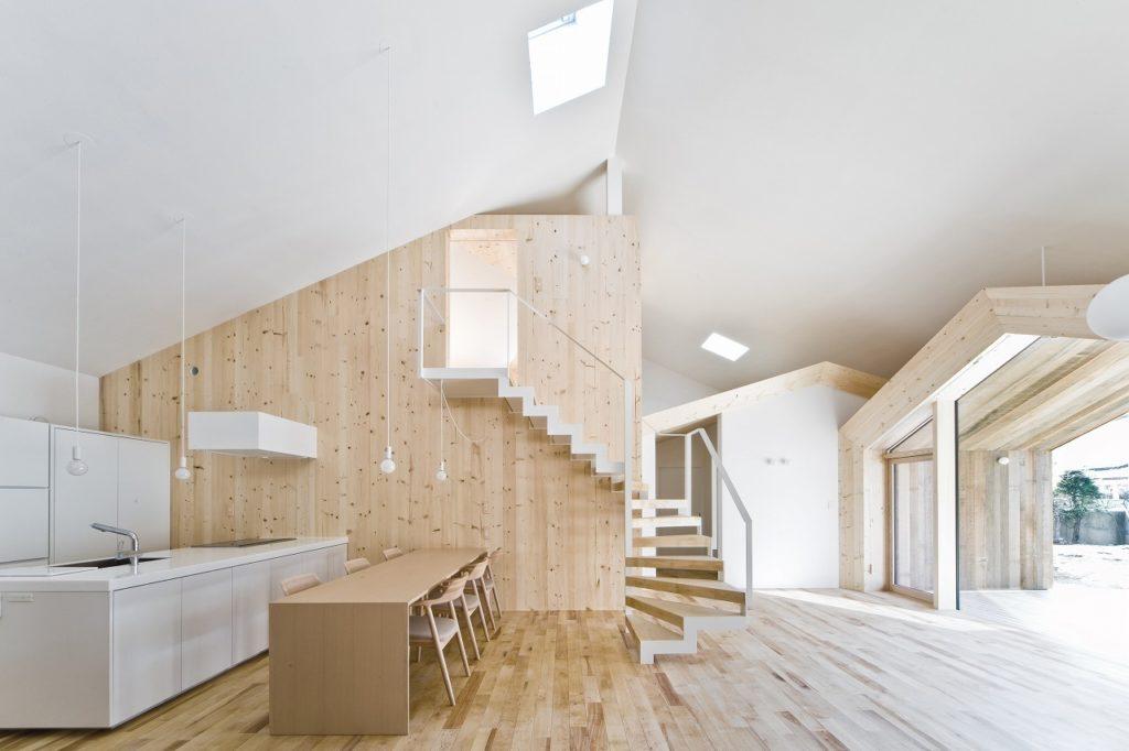 House K, diseñada en 2009 por el arquitecto Yoshichika Takagi.