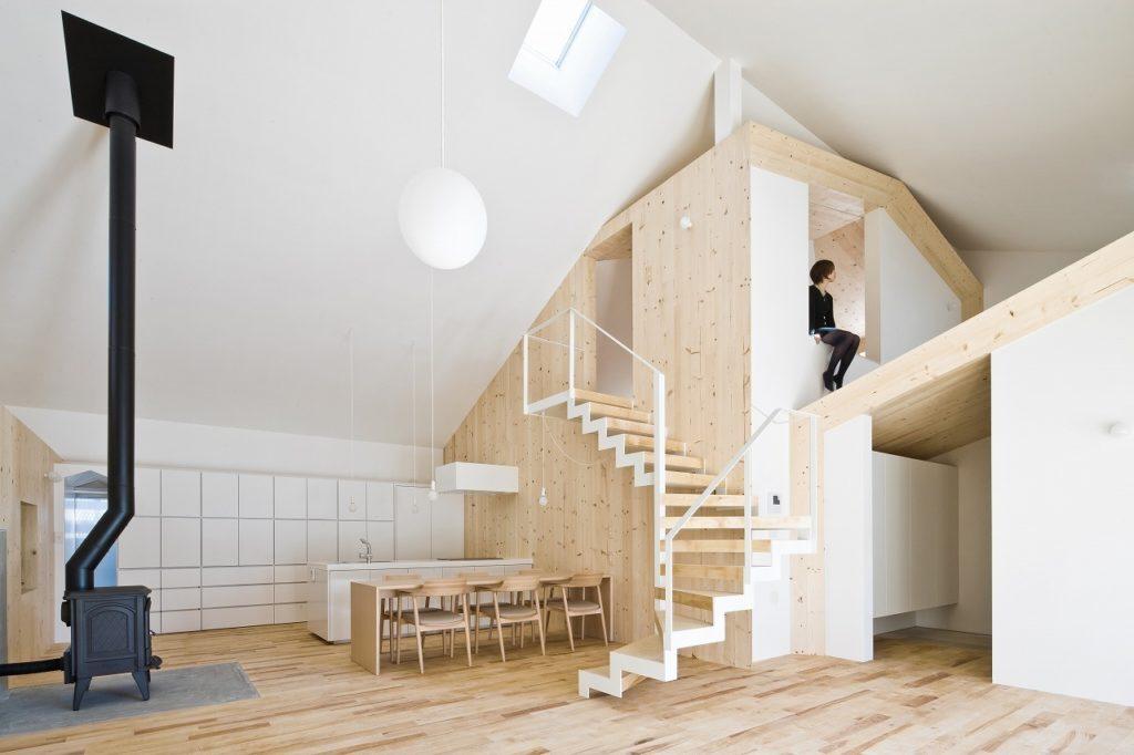 House K, Yoshichika Takagi. Reproducción edificios. Estufa