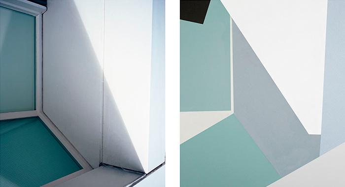 La arquitectura cubista de Nina Band se traslada al papel