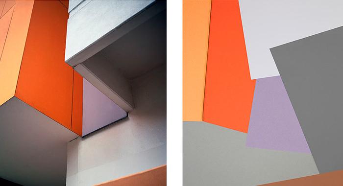 «Pensive Dimensions» explora las posibilidades plásticas de los elementos