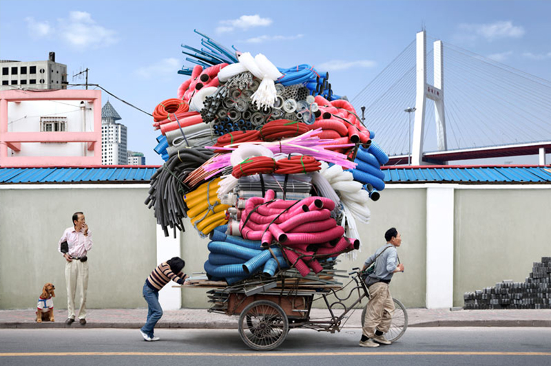 Totem del fotógrafo parisino Alain Delorme