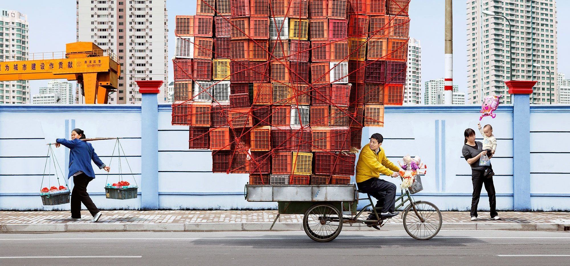 Los modernos tótems asiáticos de Alain Delorme