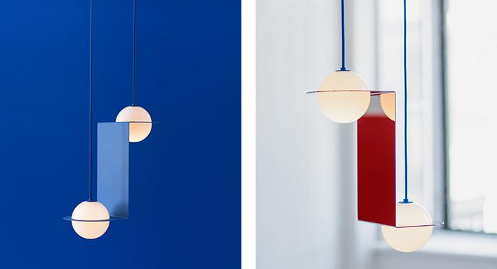 Detalle de dos de los modelos de la colección Lambert
