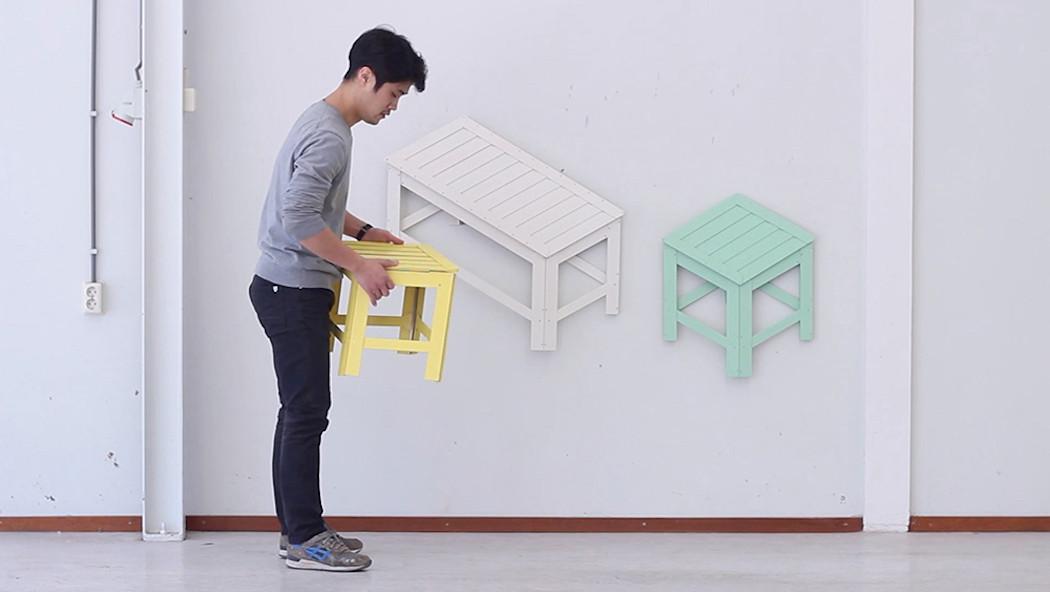 De-dimension un ingenioso juego de perspectivas