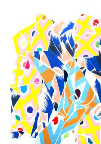 El universo colorista de Nuria Mora aterriza en Milán