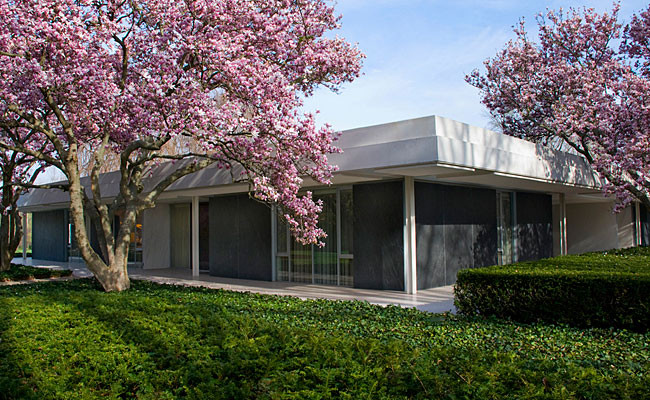 Miller House diseñada por Eero Saarinen