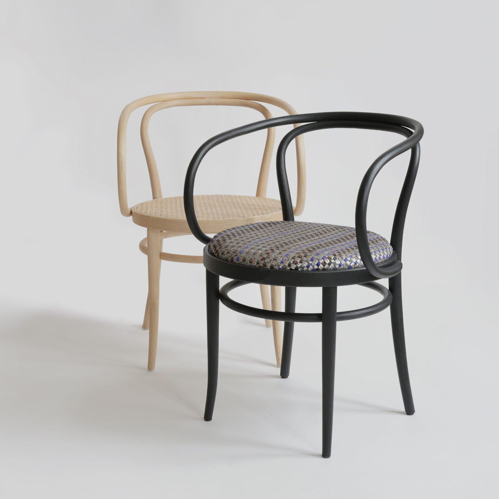 silla 209 tradicional con asiento de ratan