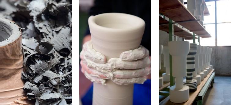 proceso fabricación cerámica Bitossi