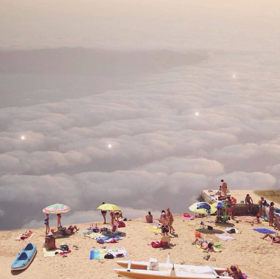 palya sobre nubes de charli davoli