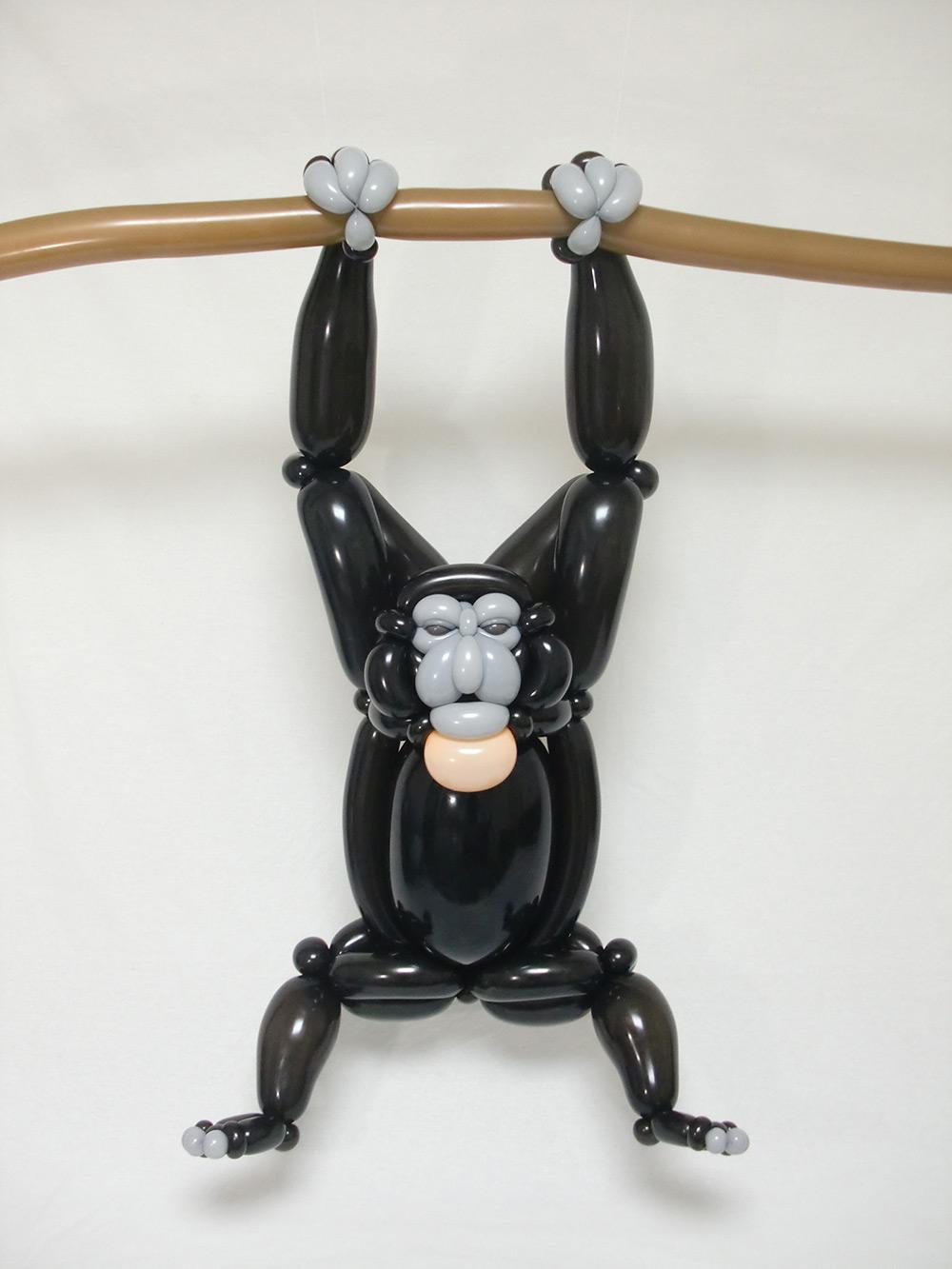 mono realizado en globoflexia por masayoshi matsumoto