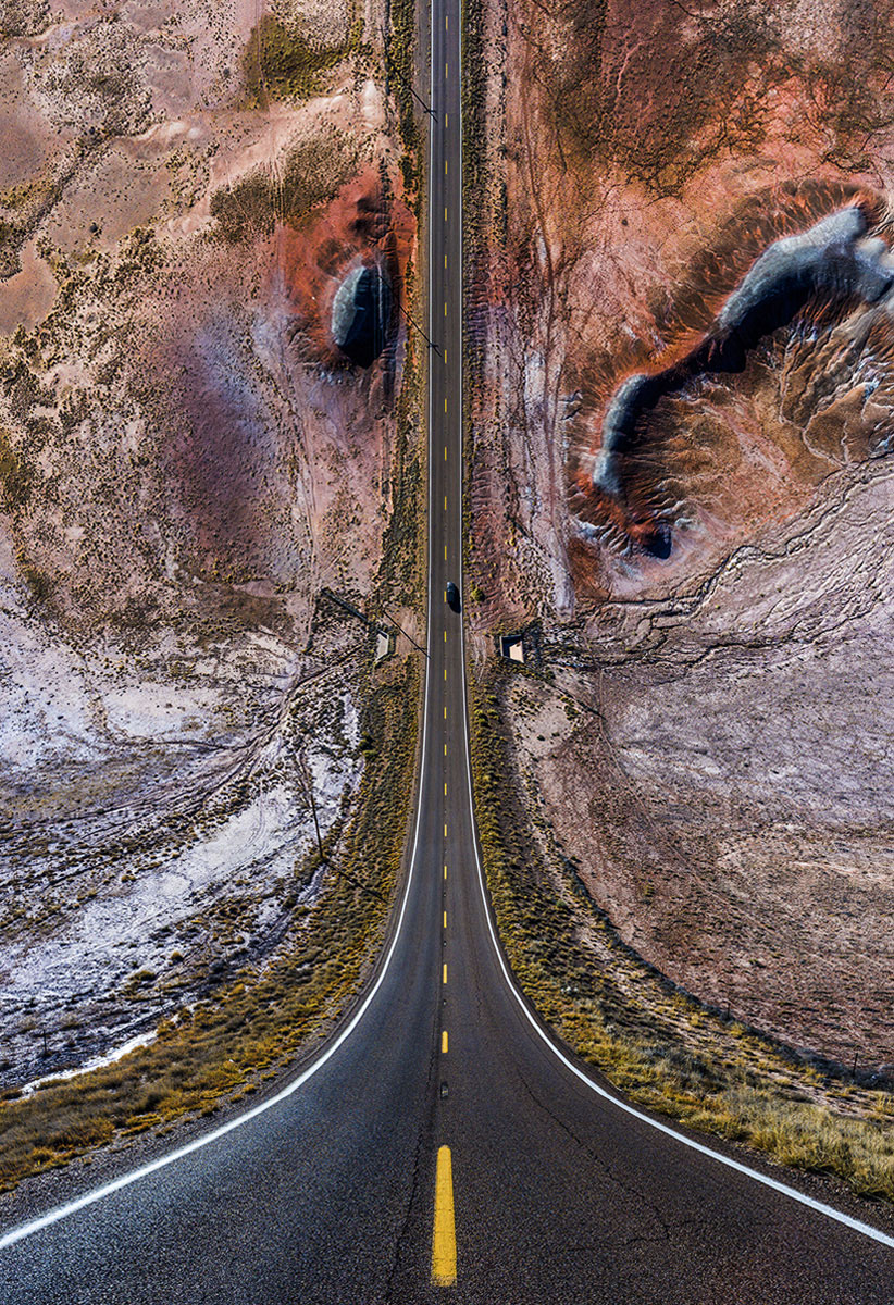 fotografia de la serie flatland de Aydin Büyüktas