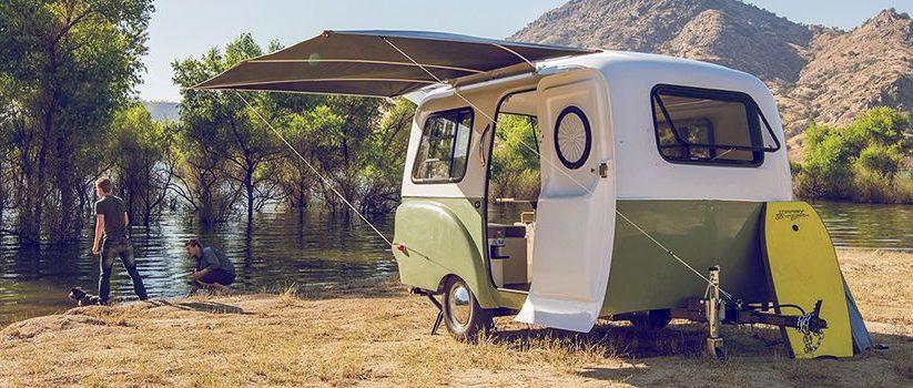 Happier Camper diseña una caravana retro camaleónica