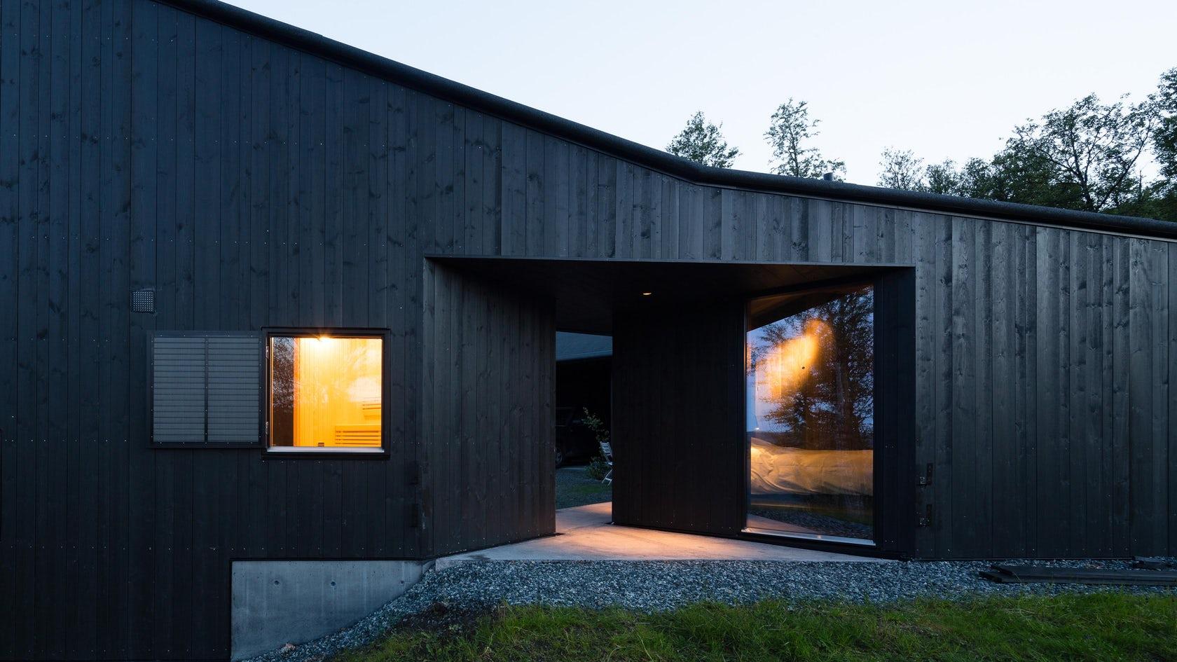 La Cabaña Geilo se funde con el paisaje escandinavo gracias a Lund Hagem