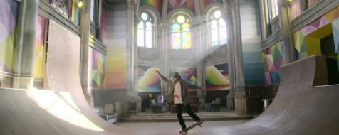 La «Iglesia Skate» asombra al mundo desde tierras asturianas