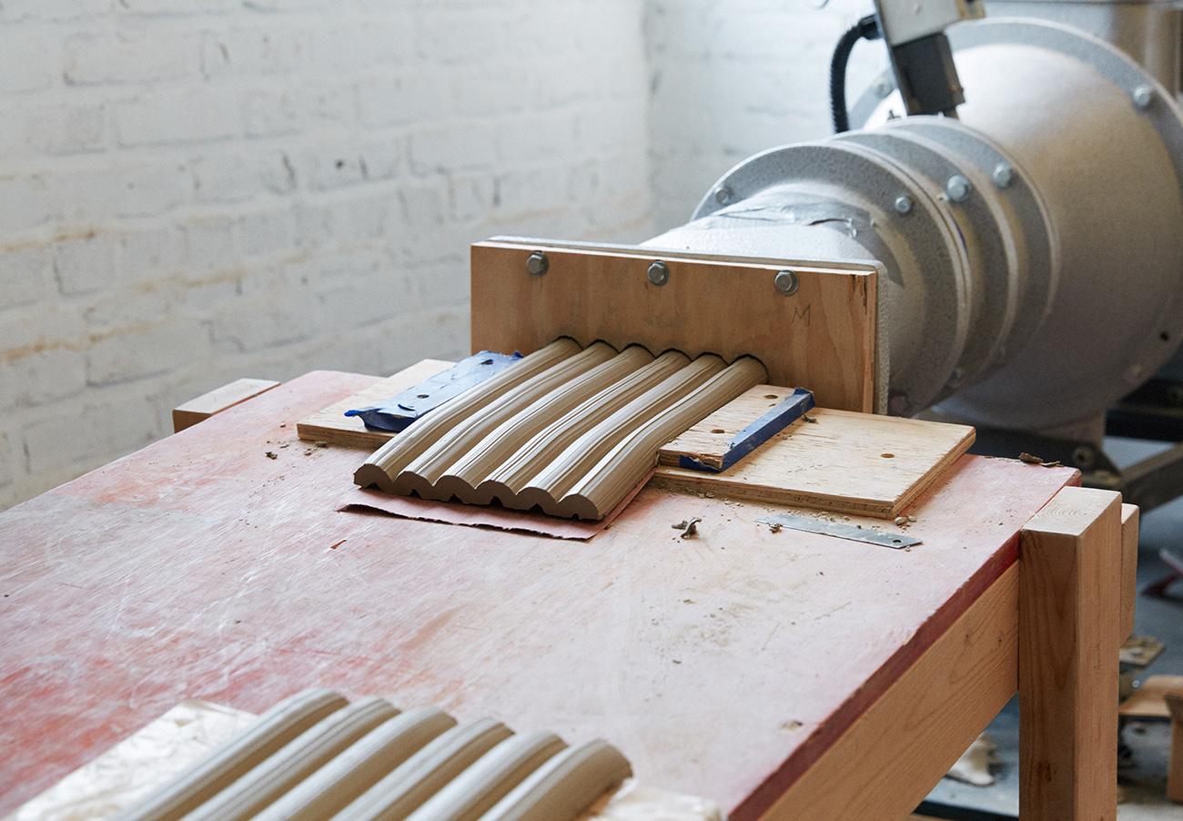 proceso de creación de las piezas de arcilla